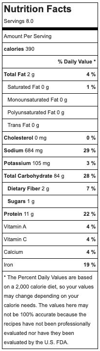 tteokbokki nutrition
