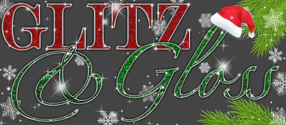 Glitz & Gloss Logo XMAS COMPRESS